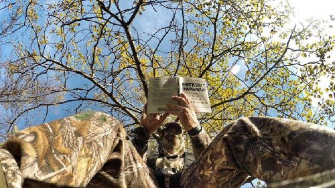OVERCOMING TREE-STAND BOREDOM