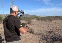 John Stallone archery practice