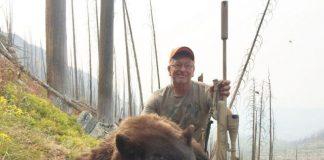 12-YEAR HUNTING BAN WASTING BEAR MEAT