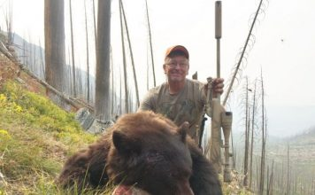 12-YEAR HUNTING BAN WASTING BEAR MEAT