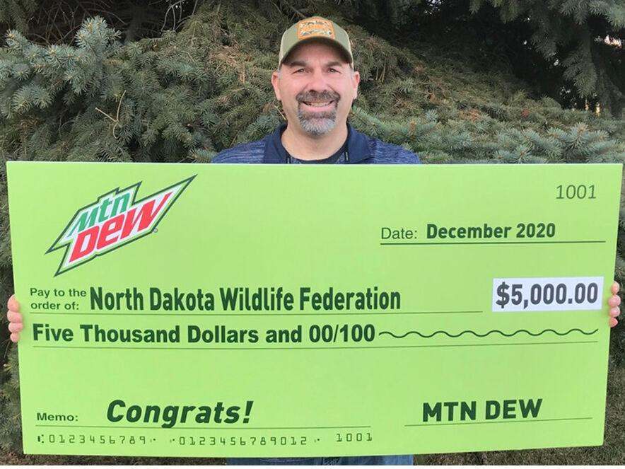 NDWF RECEIVES GRANT FROM MOUNTAIN DEW