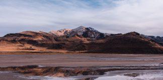 UTAH CONSIDEREDS FLYING WATER ON TO ANTELOPE ISLAND